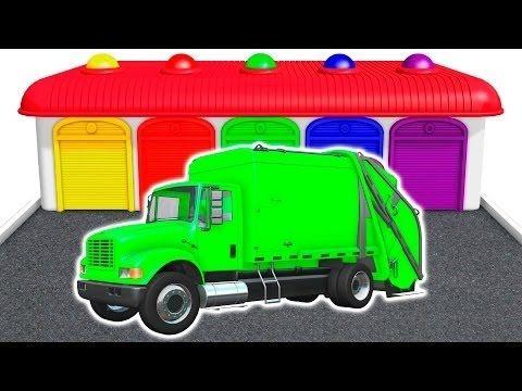 Camiones De La Basura Colores Para Ninos En Espanol Canciones Infantiles Animacion 3d Youtube Camion De Basura Canciones Infantiles Canciones