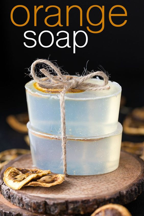 Orange Soap - Fresh and invigorating! Whip up a batch of this beautiful soap perfect for gift giving.