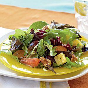 Mixed Citrus Green Salad   MyRecipes.com #myplate #vegetable #fruit