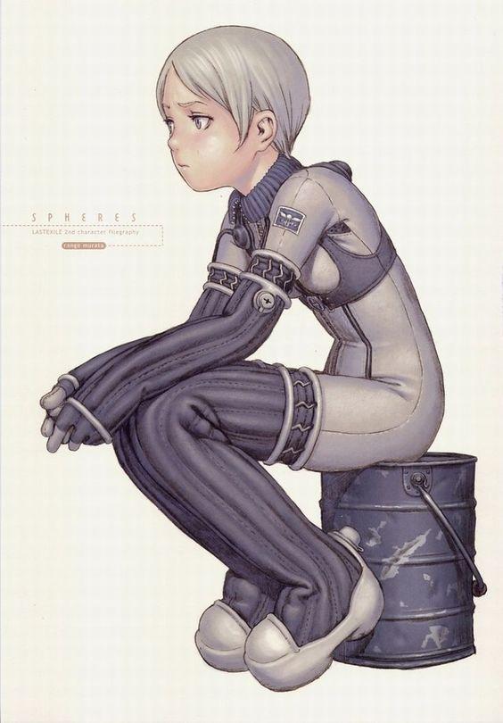 "Range Murata - ""Last exile (character design)"""