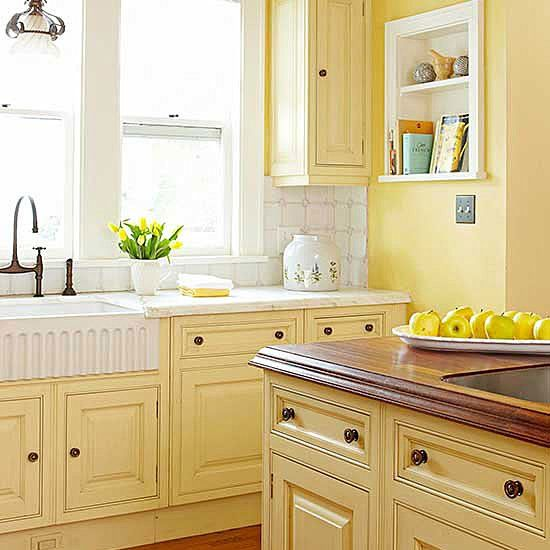 Kitchen Cabinet Details That Wow Yellow Walls Cabinets Colors