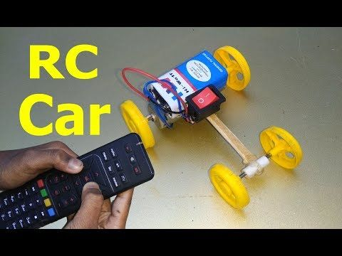 How To Make Rc Remote Control Car At Home Youtube Rc Car