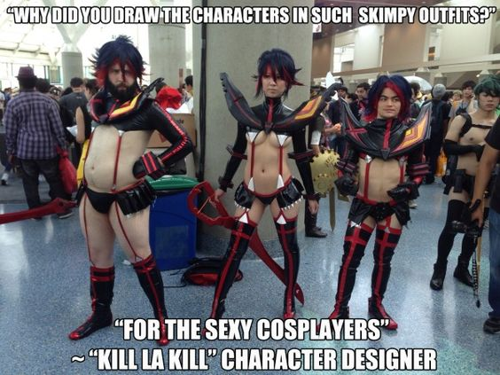 You have every type of Kill La Kill Ryuko Cosplay Here What else do you want more in this Ryuko cosplay? #funny #cosplay #killlakill