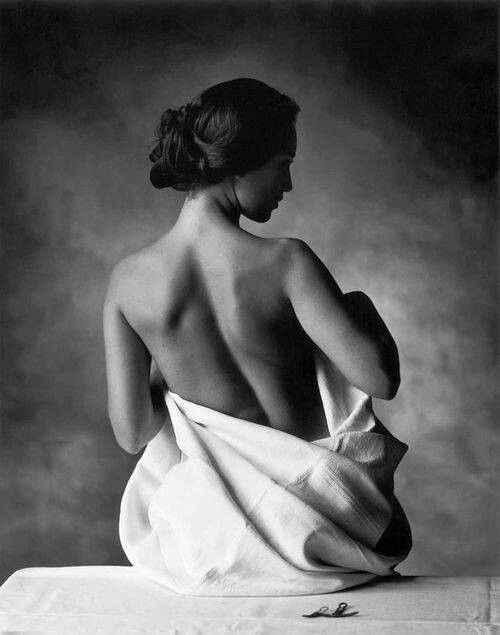 Black And White Female Nude 73