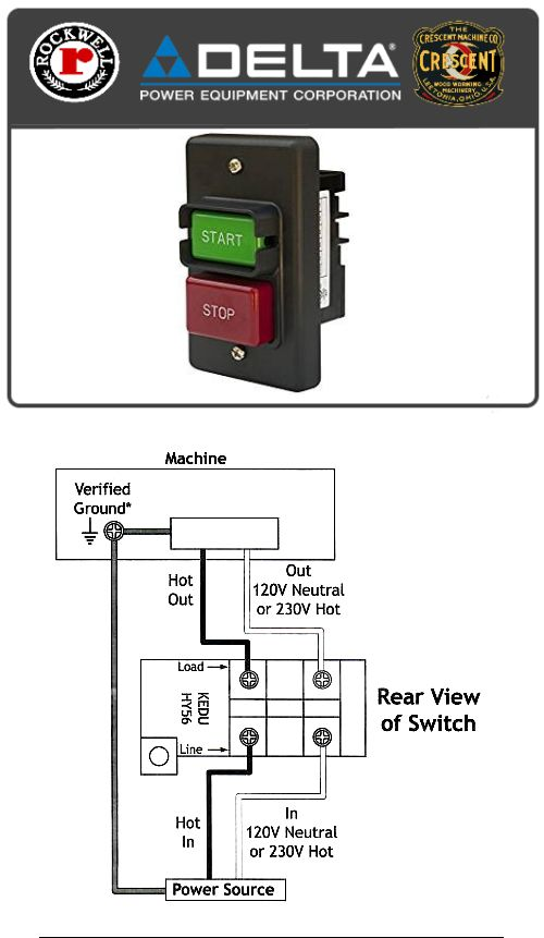 Rockwell Table Saw Wiring Diagram