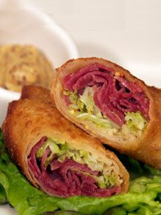 Corned beef, Egg rolls and Cabbages on Pinterest