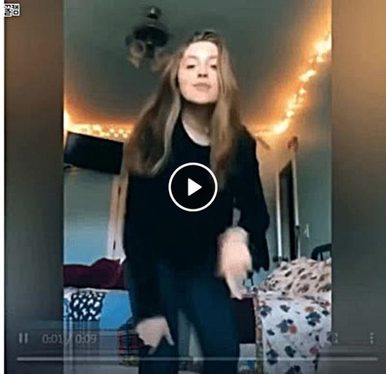 Esta jovem foi dançar acabou se machucando.