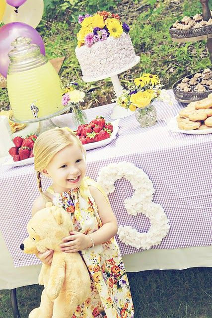 adorable vintage winnie the pooh birthday party