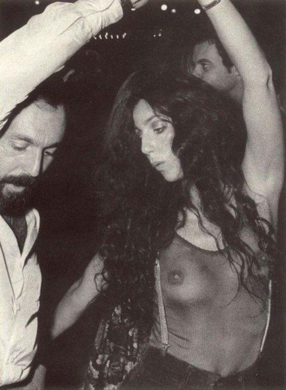 Cher dancing at Studio 54