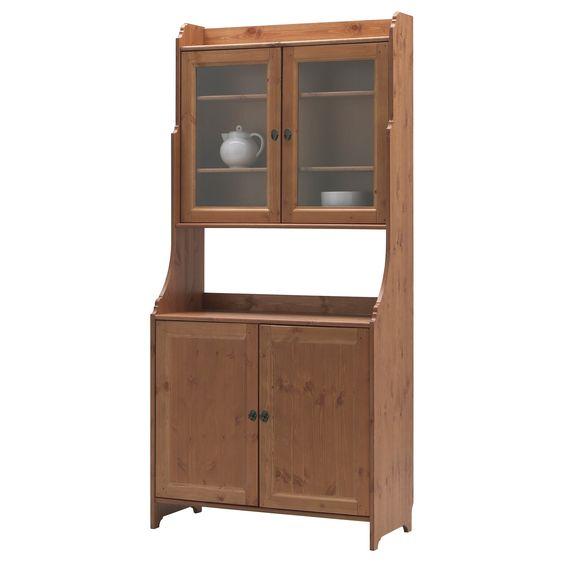 POÄNG Armchair, birch veneer, Isunda grey | Ikea, Bufé y Aparadores