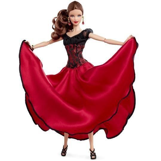 Пасадобль платье