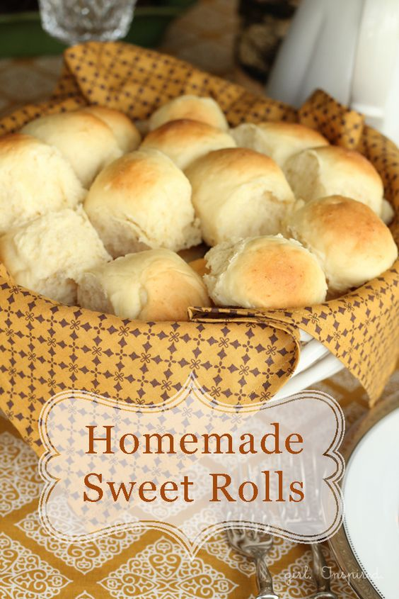 Homemade Dinner Rolls - these are the best! Make in the bread machine or the old fashion way