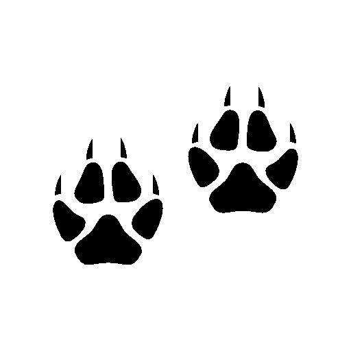 Moose footprints free icon | Signage zoo | Pinterest