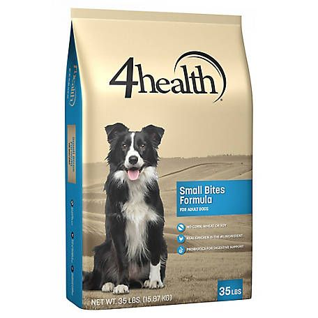 4health Original Small Bites Formula Adult Dog Food 35 Lb Bag At