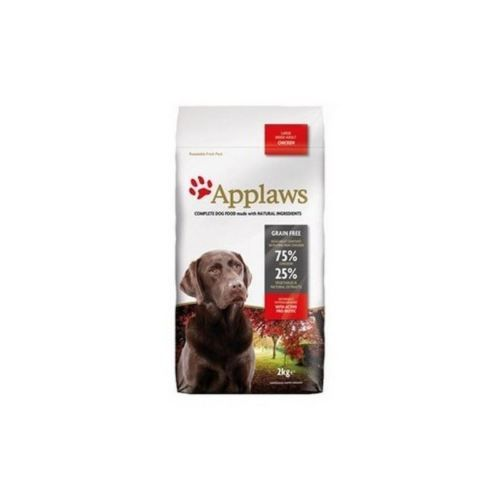 Applaws Dry Dog Food Chicken Large Breed 2kg Pack Of 2 Dog