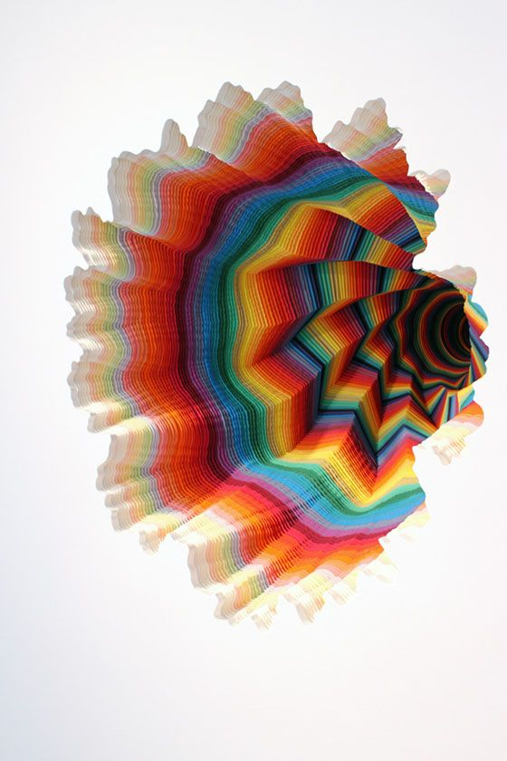Jen Stark - her work is freakin' amazing...if you don't open the link, just know this is 3D, and is made from cut paper. MIND BLOWN!