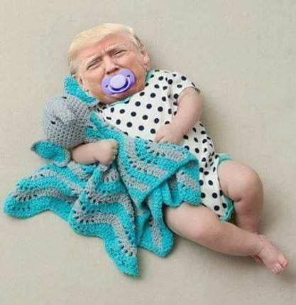 SO MUCH FUN IS BEING MADE OF THE TRUMP......SOME OF IT - QUITE MEAN.......ccp