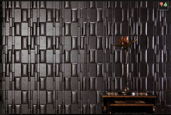 Nappa Tile - Peel-n-stick wall faux leather tile