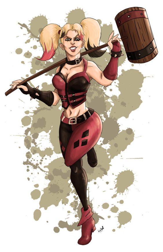 Harley Quinn #hallustration