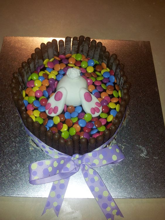 Bunny Butt Easter cake from http://ohmyapplepie.weebly.com/