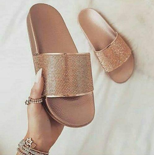 sliders women's flat footwear