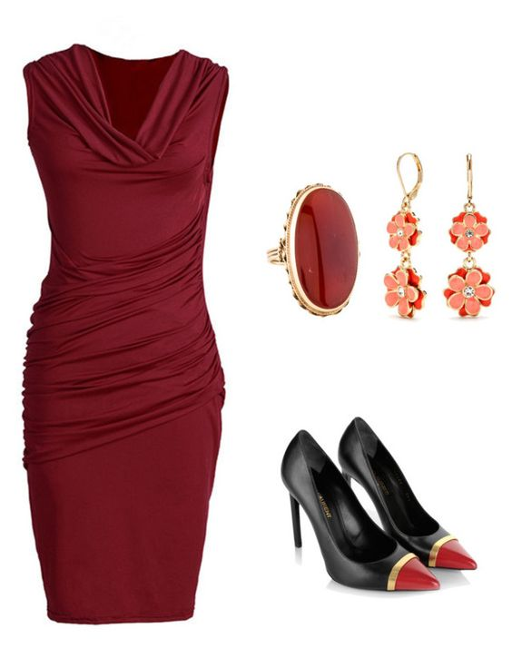 """""""Untitled #10"""" by leezaa on Polyvore featuring Yves Saint Laurent and Napier"""