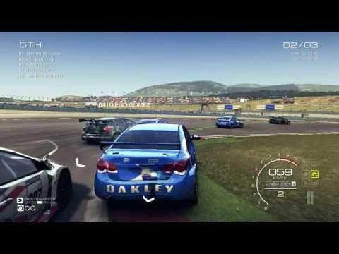 GRID Autosport - Gameplay PC  ( Race 3 )