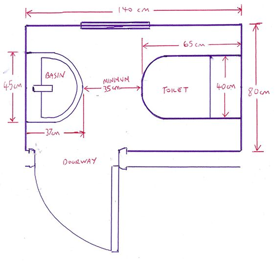Minimum bathroom dimensions with 14 bathroom installation for D i y bathroom installations