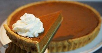 Recette de la tarte à la citrouille et aux épices – pumpkin pie recipe