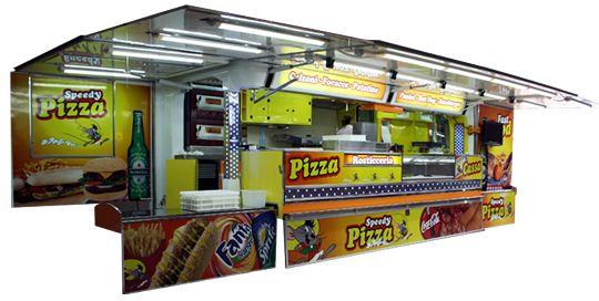 Cellula vendita camion per prodotti alimentari  Art. CELLULA CAMION