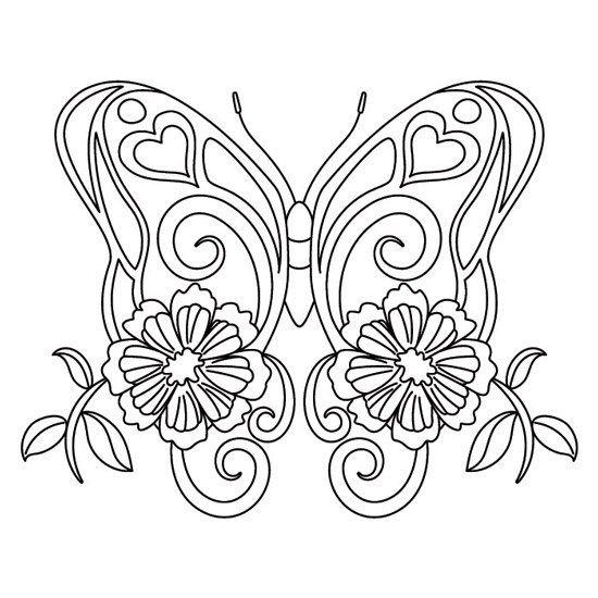 Mariposa Mariposas Para Imprimir Mandalas Animales Mandalas