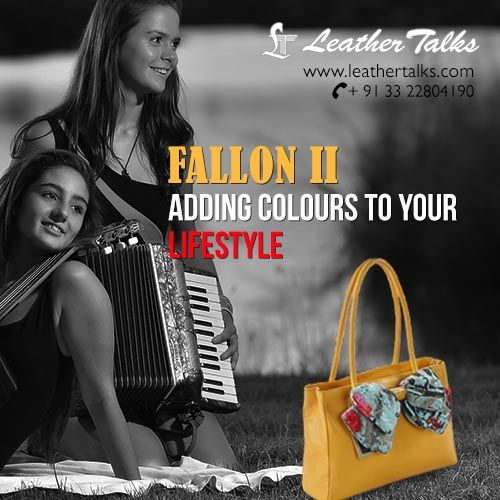 Keep an eye on our online portal for the latest collection of intricately designed handbags for women of all ages. Take a look at this Fallon II ! Designed uniquely with a light and bright scarf just to make it more appealing. #scarfylook #leathertalks http://leathertalks.com/product/fallon-ii/