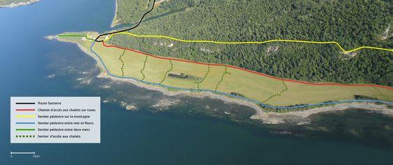 Carte du site | Domaine Floravie - Location de chalets Tiny House et de salles, vue sur la mer, hébergement insolite - Bic, Québec, Canada