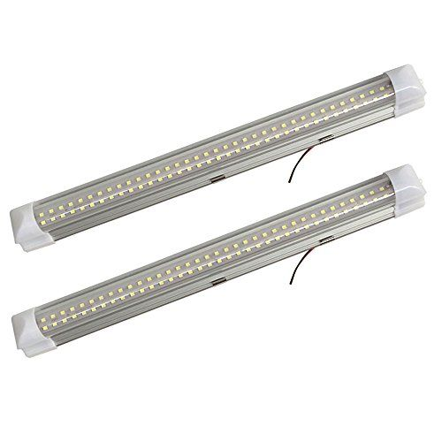 12v Ledlight 72 Leds Bright Interior Light Bar With Switch Natural White Rv Strip Light White Kitchen 12 Volt Under Cabinet Light Bar Hardwire Oficinas