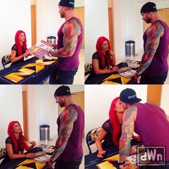 Eva Marie Signing a Maxim Hot 100 for Her Husband http://dailywrestlingnews.com/?p=73788
