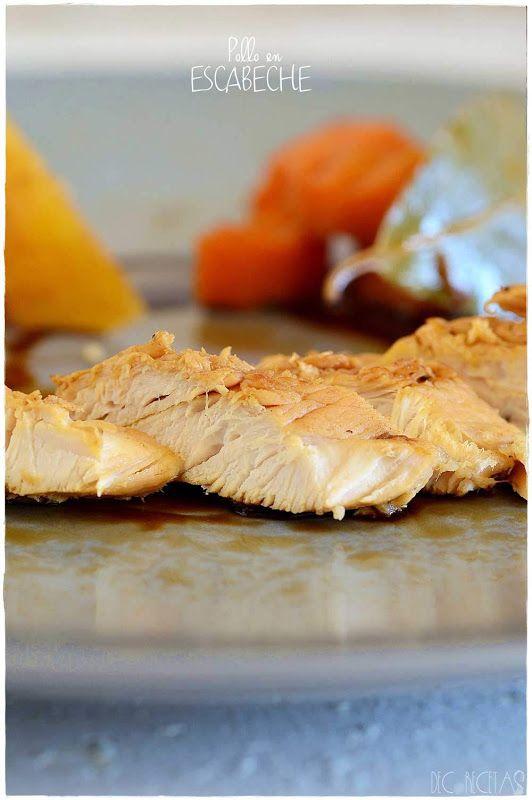 Receta De Pechugas De Pollo En Escabeche Decorecetas Pollo En Escabeche Recetas De Pechuga De Pollo Recetas Con Pechuga