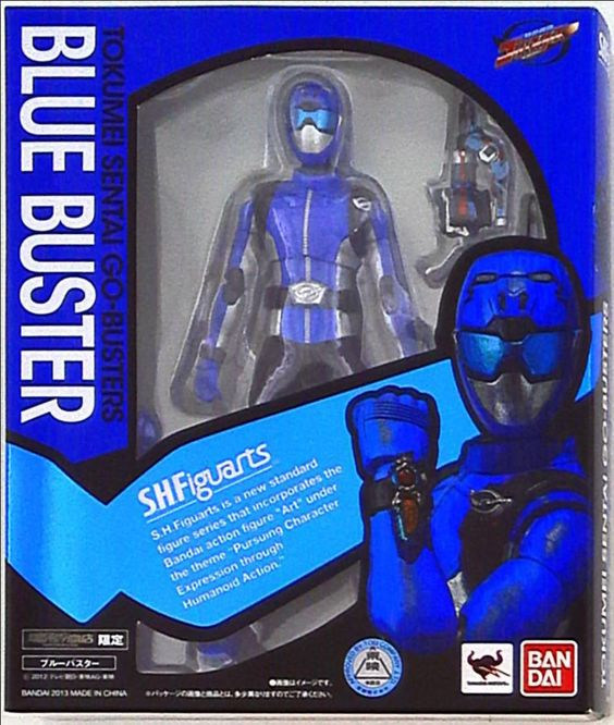 Only One Build Store - Bandai Power Rangers Go-Busters S.H ...