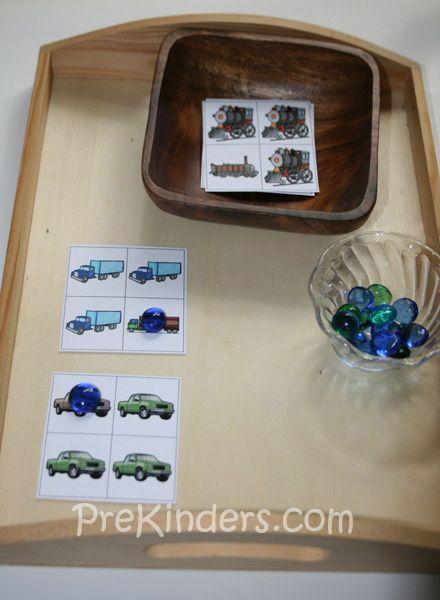 Transportation Same/Different Cards | Transportation, Cards and ...