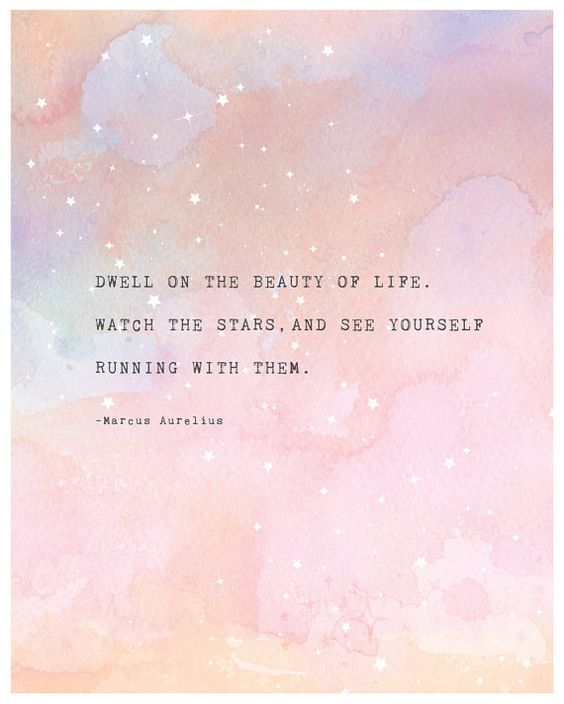 Marcus Aurelius quote poster dwell on the by Riverwaystudios