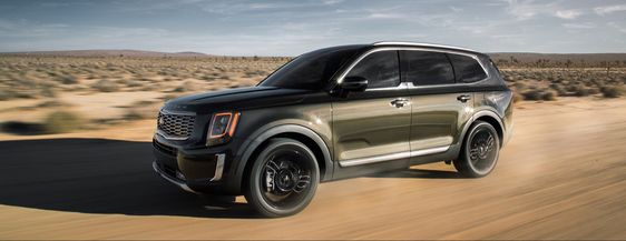 The Kia Telluride Recently Received Six Top Safety Pick Ratings