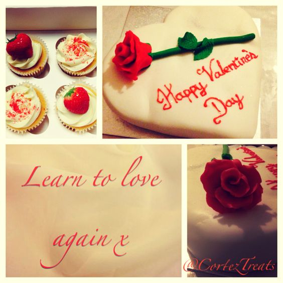 Happy Valentine's Day! We love you all and appreciate your support. #CortezTreats #vday #valentinesday #cakesthatmeltinyourmouth #strawberries #redroses #love #cake #cupcakes #cookies #desserts #sweettooth