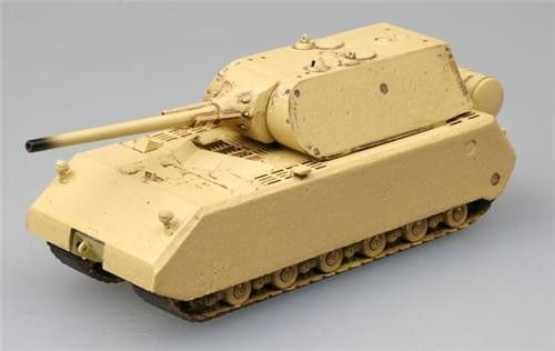 """1:72 """"MAUS"""" tank - German Army used on war - Assembled and painted models - Military scale model kits - Modelling 