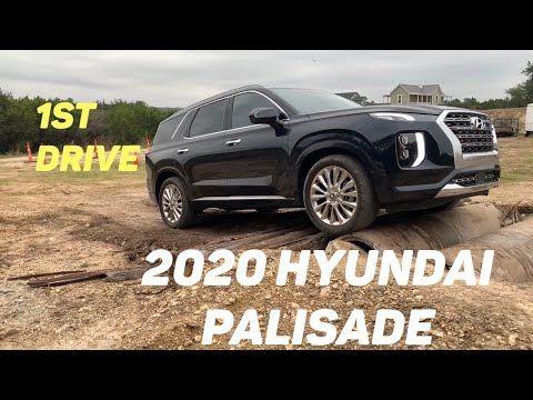 First Drive 2020 Hyundai Palisade Limited Awd Youtube Hyundai Awd First Drive
