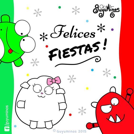 Felices fiestas! #16deSeptiembre  #fiestaspatrias #guyuminos #frases #gif #animacion