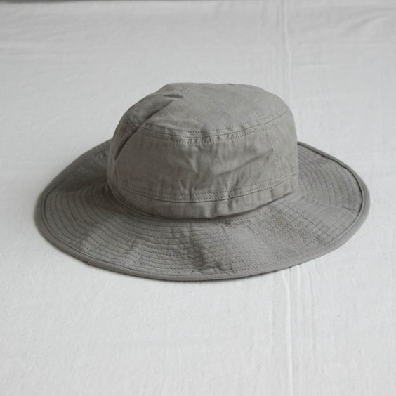 ORGANIC COTTON HAT #gray