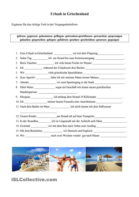 Urlaub in Griechenland