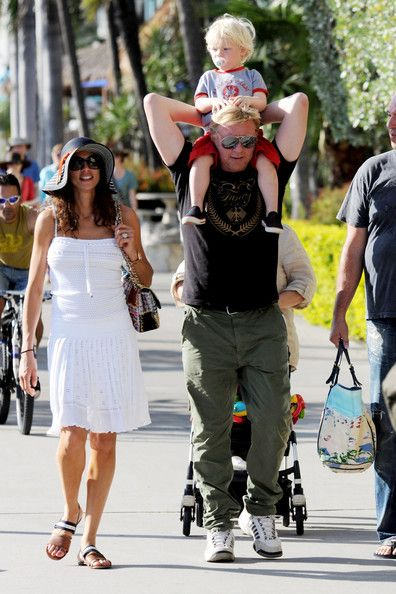 Lilly Kerssenberg Photo - Boris Becker and Family in Miami