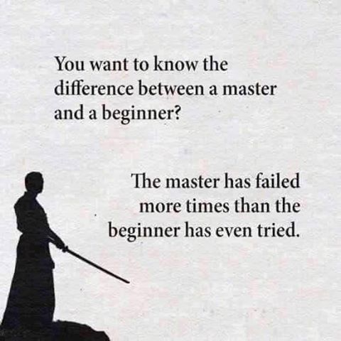 and learned from those failures.