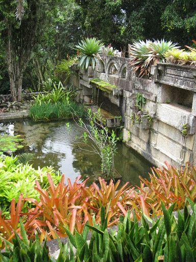 Sitio Burle Marx, Rio De Janeiro. South America's renowned landscape architect.