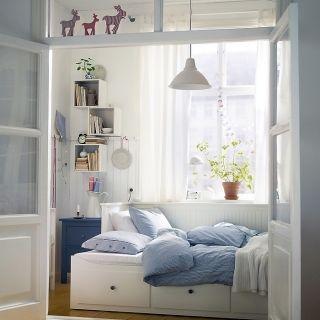 quartos com cama HEMNES ikea - Pesquisa Google